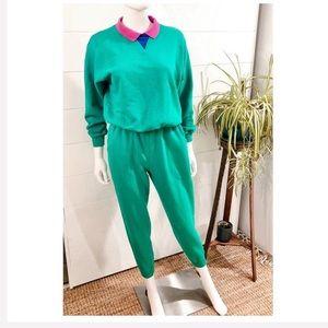 VTG Streetwear 80s/90s Liz Claiborne Sweatsuit